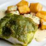 Simon Rimmer Cod with Crispy Potatoes and Butter Sauce recipe on Sunday Brunch