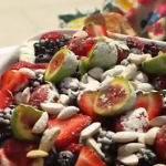 Peter Andre Croatian fruit cake recipe on Lorraine