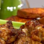Tom Kerridge American feast with chicken wings recipe on This Morning