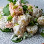 Simon Rimmer Poached Salmon and Potato Salad Recipe Sunday Brunch