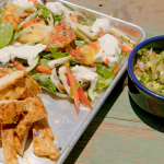 Hairy Bikers Mesquite chicken with guacamole and a fennel and peach salad recipe on Route 66