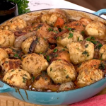 John Torode chicken stew with dumplings recipe on This Morning