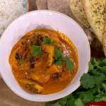 Phil Vickery original chicken tikka masala with tomato soup and basmati rice recipe on This Morning