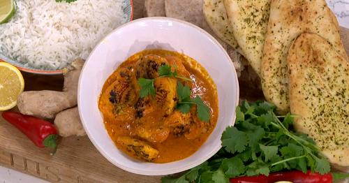 Phil Vickery original chicken tikka masala with tomato ...