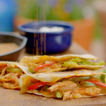 Hairy Bikers pulled chicken quesadillas recipe on Route 66