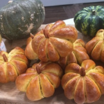 Allegra Benitah spooky Halloween bread recipe on This Morning