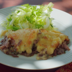 Rick Stein duck cottage pie with Comte cheese and Mexican dried chillies recipe on Rick Stein's Secret France