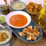 Phil Vickery homemade hearty soup recipe on This Morning