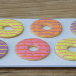 Prue Leith iced rings biscuits recipe on Junior Bake Off