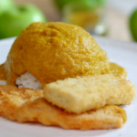 Lisa Faulkner vegetarian katsu curry with tofu and sweet potato recipe on John and Lisa's Weekend Kitchen
