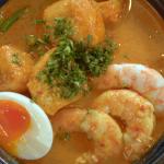 Mandy Yin Malaysian prawn laksa recipe on Nadia's Family Feasts