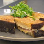 Marcus Wareing Croque Monsieur Sandwich with salad recipe on MasterChef The Professionals