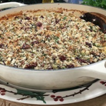 The Hairy Bikers Christmas casserole with a stuffing crumble topping recipe on This Morning