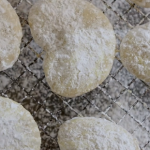 Nadia Sawalha Greek biscuits with almonds and brandy recipe on Nadia's Family Feasts