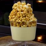 James Martin Christmas popcorn dessert with custard, chocolate, mandarin and Yuzu juice recipe on James Martin's Saturday Morning