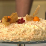 Simon Rimmer Toasted Coconut Cake recipe on Sunday Brunch