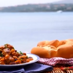 Gino's sausage and beans with rosemary recipe on This Morning