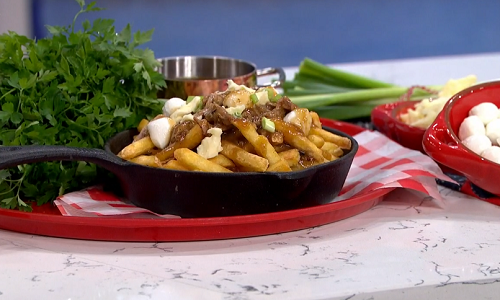 Phil Vickery posh chips and gravy with duck legs recipe on ...