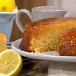 Juliet Sear easy syrup sponge recipe on This Morning