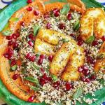 John Gregory Smith Halloumi, Cauliflower Rice and Muhammara Salad recipe on Sunday Brunch