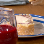 Phil Vickery Arctic Roll with Raspberry sauce recipe on This Morning