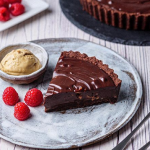 Simon Rimmer Chocolate Dulce De Leche Tart recipe on Sunday Brunch