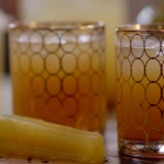 John Torode Jamaican ginger beer with homemade cordial recipe on John and Lisa's Weekend Kitchen
