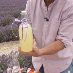 Phil Vickery lavender lemon cordial with  citric acid recipe on This Morning