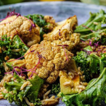Simon Rimmer Pickled Cauliflower with Kale and Brown Rice recipe on Sunday Brunch
