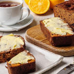 Simon Rimmer Earl Grey with Dates, Apple and Orange Loaf recipe on Sunday Brunch