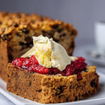 Simon Rimmer Granny's Cake with Raspberries and Clotted Cream recipe on Sunday Brunch