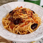 Angela Hartnett spicy spaghetti puttanesca recipe on This Morning