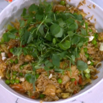 Gok Wan simple special fried rice with fish sauce and cashew nuts recipe on This Morning