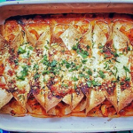 Shivi Ramoutar chicken with pineapple enchiladas recipe on Sunday Brunch