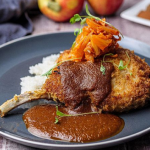 Simon Rimmer Pork Chops with Tonkatsu Sauce recipe on Sunday Brunch