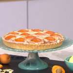 Phil Vickery apricot and almond tart with clotted cream recipe on This Morning