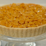 Juliet Sear cornflakes tart with salted caramel recipe on Ainsley's Food We Love