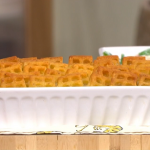 Phil Vickery frozen fish pie with potato waffles recipe on This Morning