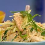 John Torode speedy chicken noodles with vodka recipe on This Morning