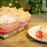 Ainsley Harriott Queen of puddings with raspberry jam recipe on Ainsley's Food We Love