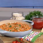 Gino D'Acampo mamma's chicken risotto with tomato sauce recipe on This Morning