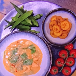 Freddy Forster West African stew with plantains recipe on Steph's Packed Lunch