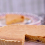 Phil Vickery Bakewell tart with apricot and raspberry jam recipe on This Morning