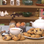 Donal Skehan dark chocolate chip cookies  with roasted toasted hazelnuts recipe on This Morning