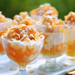 Nadiya Hussain mango and black pepper cranachan with cornflakes recipe on Nadiya Bakes