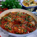 Angela Hartnett midweek meatballs with potatoes and bread soaked in milk recipe on This Morning