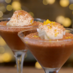 Ainsley Harriott orange mocha mousse with cardamom recipe on Ainsley's Food We Love