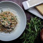 Simon Rimmer Mushroom and Roasted Pine Nut Risotto recipe on Sunday Brunch