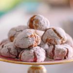 Nadiya Hussain raspberry amaretti biscuits recipe on Nadiya Bake