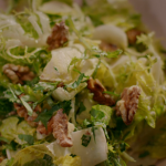 Nigella Lawson creamy garlic and anchovies dressing with walnuts recipe on Nigella's Cook, Eat, Repeat
